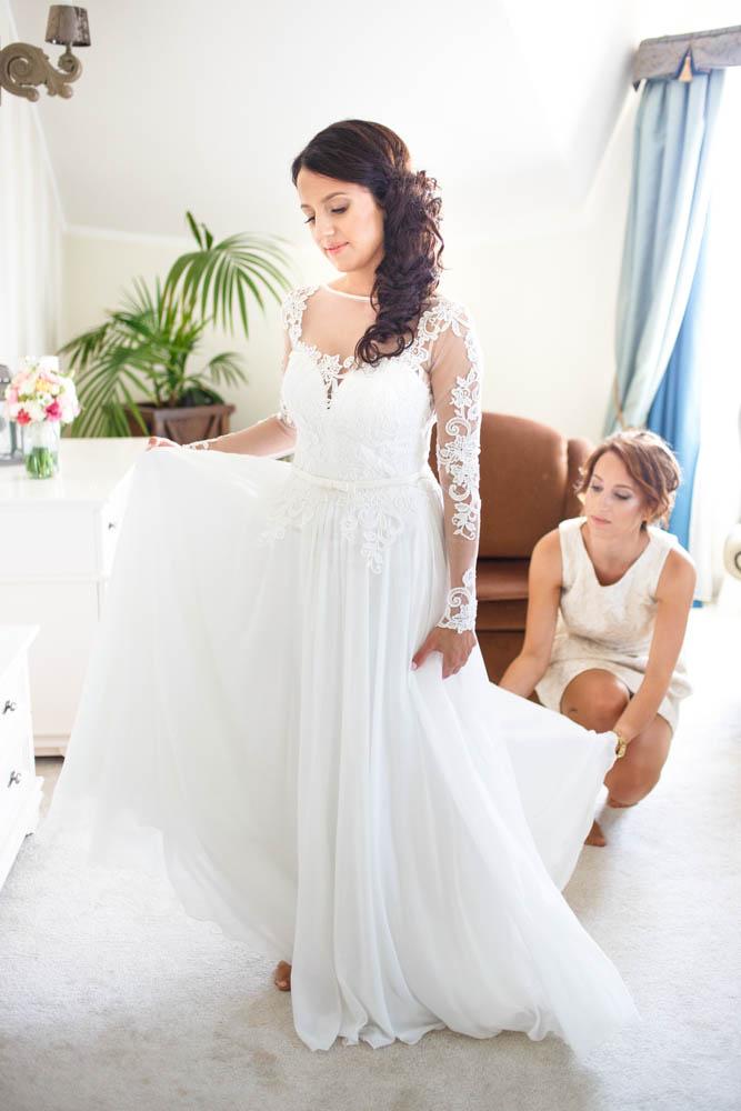 przygotowania ślubne Dolina Charlotty